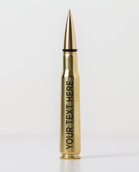 50 Caliber Pen - Brass