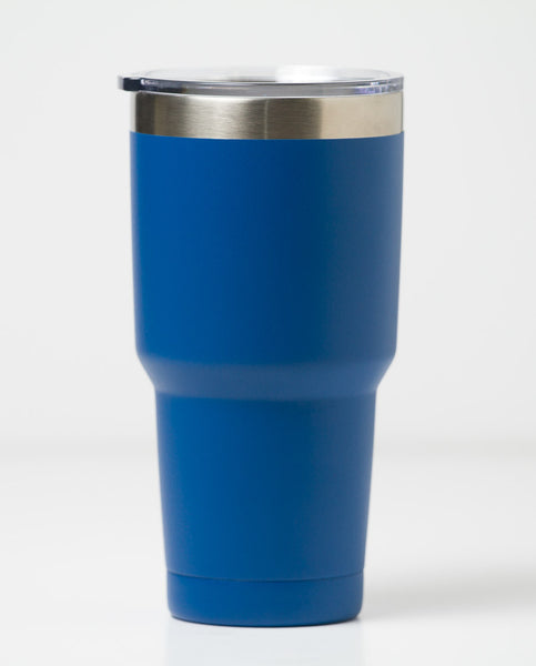 dark blue 30 oz tumbler