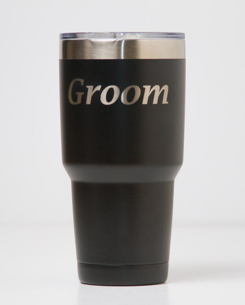 30 oz. Tumbler - Groom (Black)