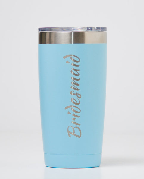 20 oz. Polar Camel Tumblers - Bridesmaid (Light Blue)