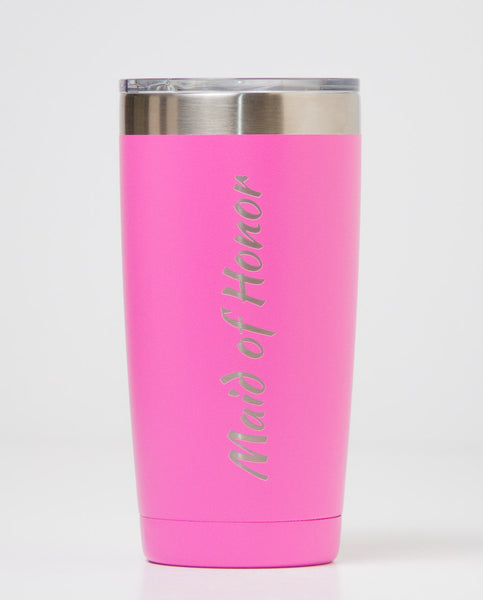 20 oz. Polar Camel Tumblers - Maid of Honor (Pink)