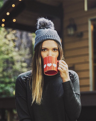 Bethany Marie in 525 America... But first, coffee.