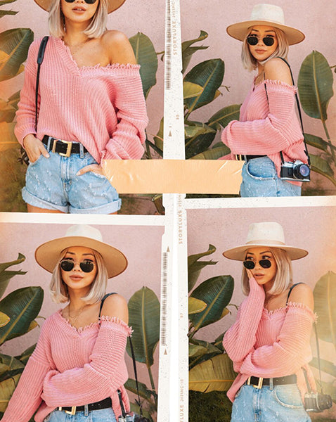 Life in Pink Looks Sweet on Francis Lola in 525
