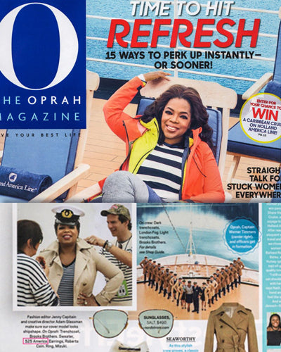 O YES! Oprah Hits Refresh in 2018 Wearing 525 America