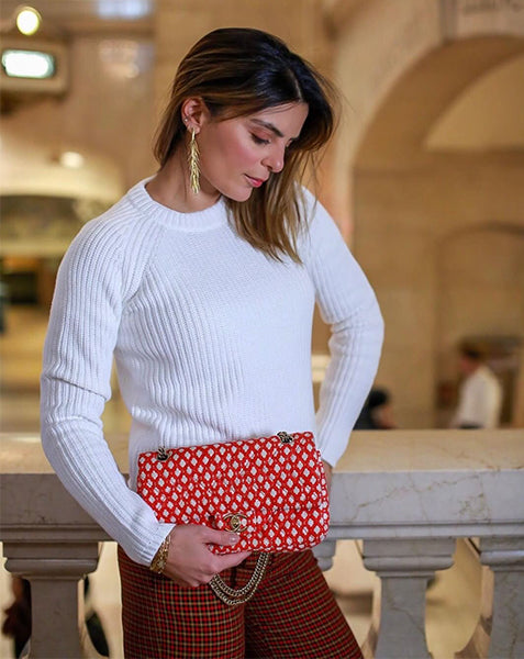 Isis Louw in Grand Central in 525's The Jane Sweater