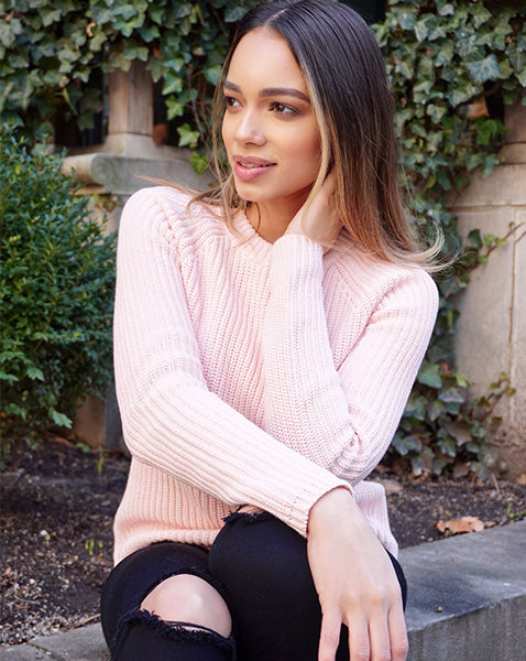 Raven Arce in 525's The Jane Sweater