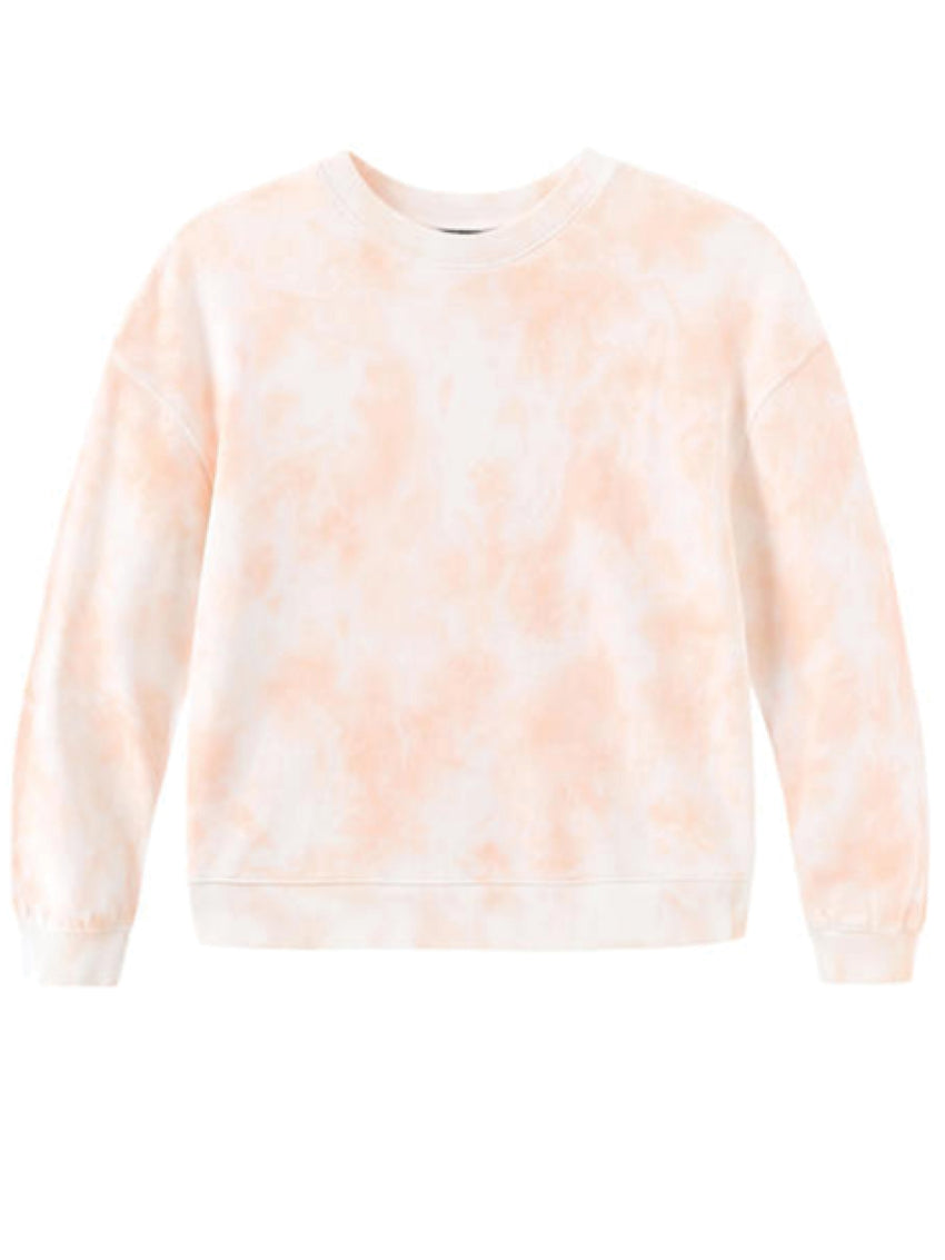 Cotton French Terry Tie Dye Sweatshirt