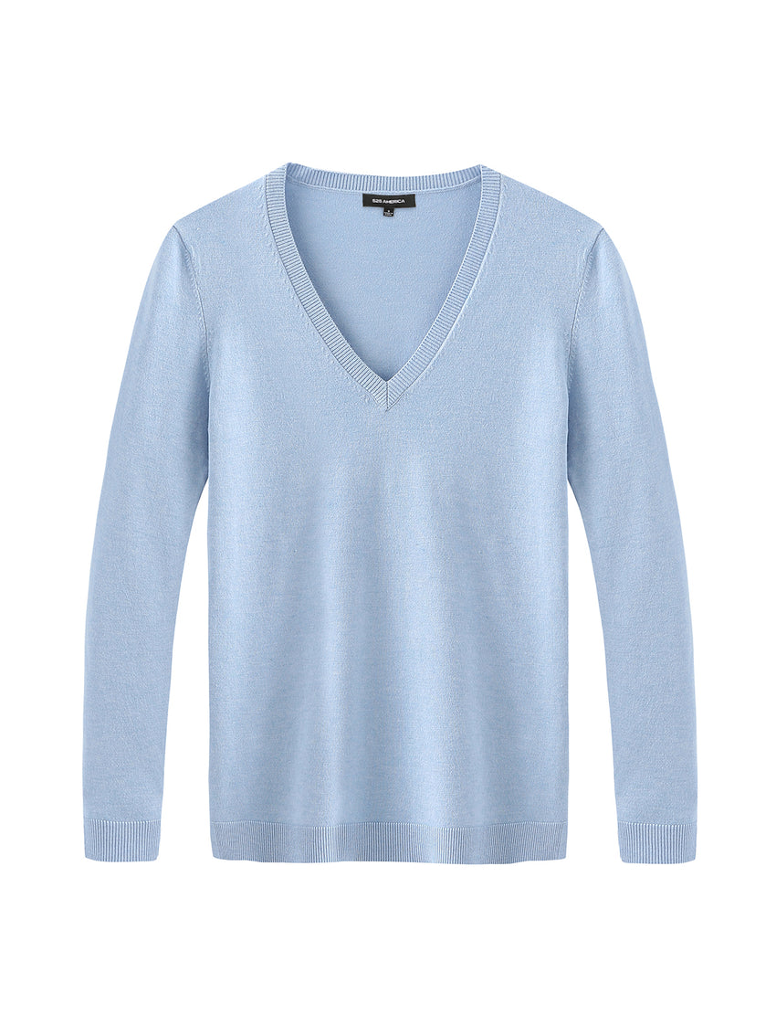 V-Neck Long Sleeve