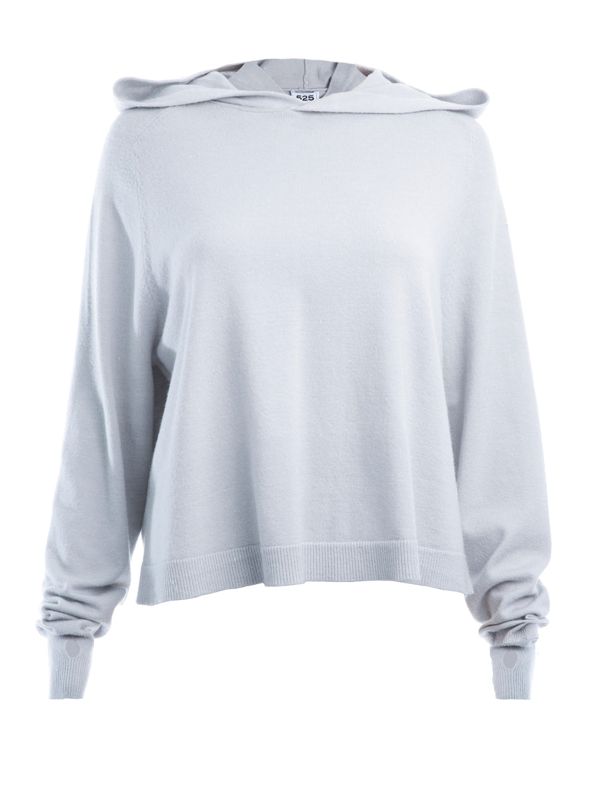 Relaxed Fit Long Sleeve Hoodie