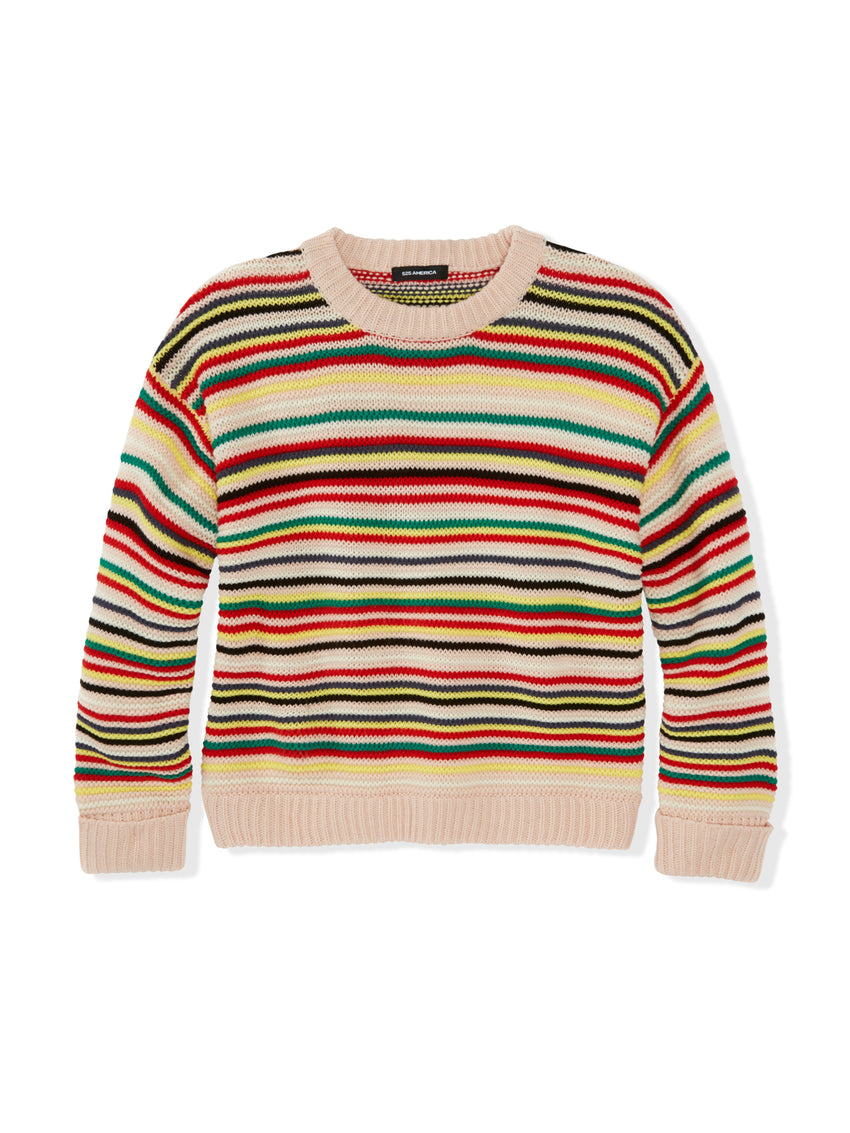 Alex Striped Crewneck Sweater