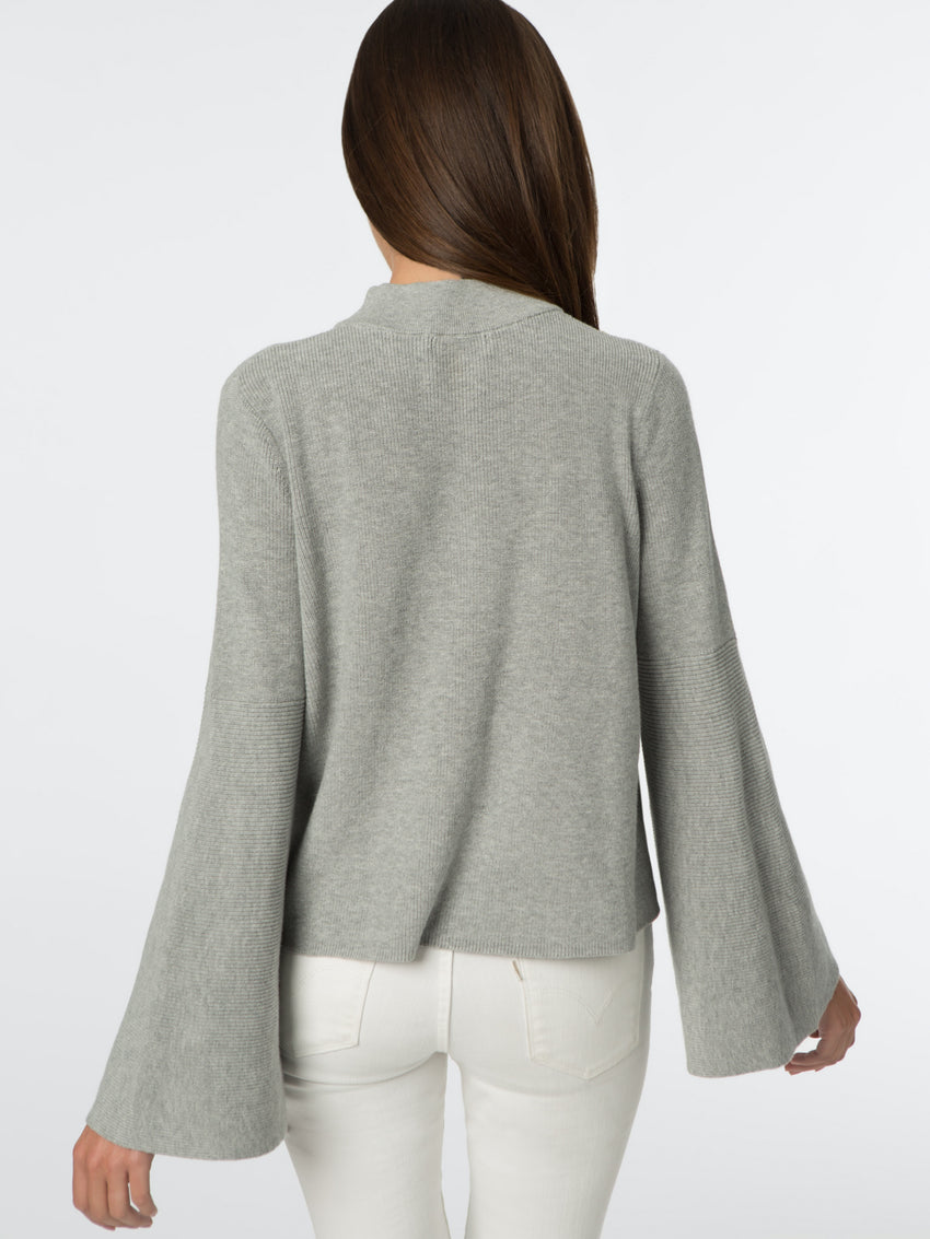 Cotton Bell Sleeve Sweater