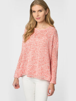 Cuffed Sleeve Beach Sweater