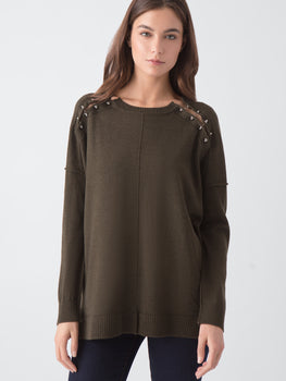 Merino Wool Barbell Tunic