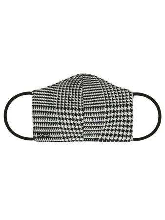 Lightweight Houndstooth Fashion Mask