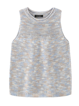 Spacedye Sleeveless Crewneck Tank