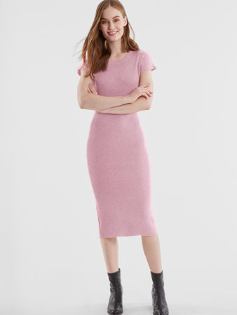 Ribbed Knit Dress