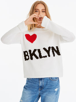 Cotton Shaker Love Brooklyn Sweater
