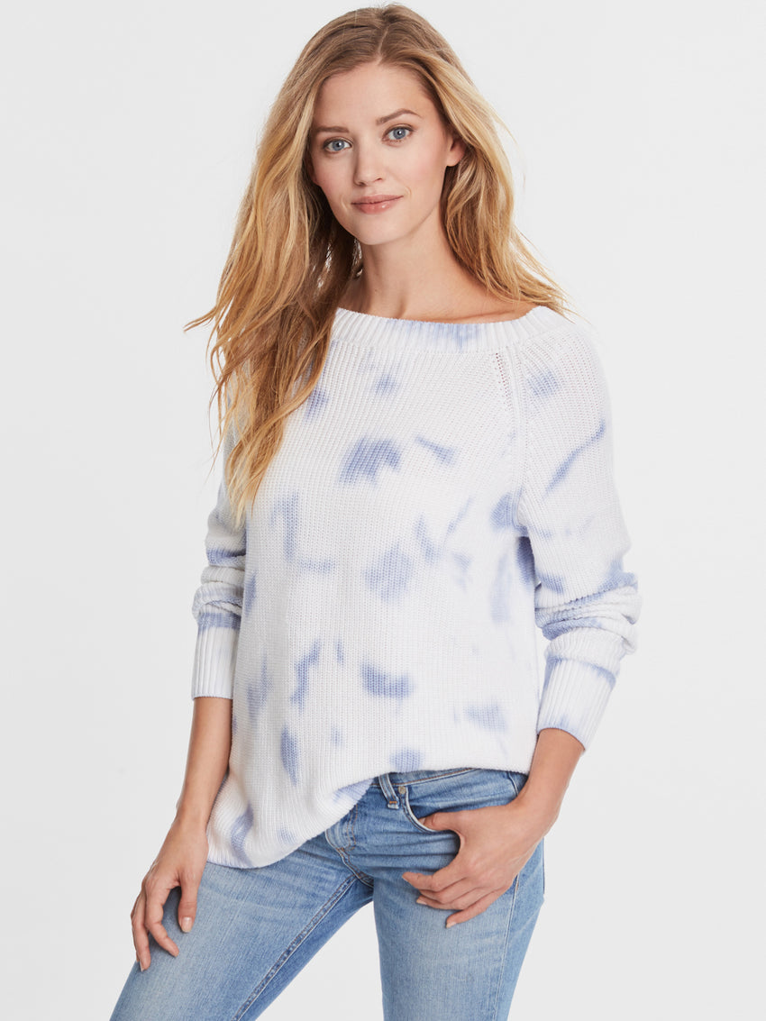 Cotton Shaker Tie Dye Sweater
