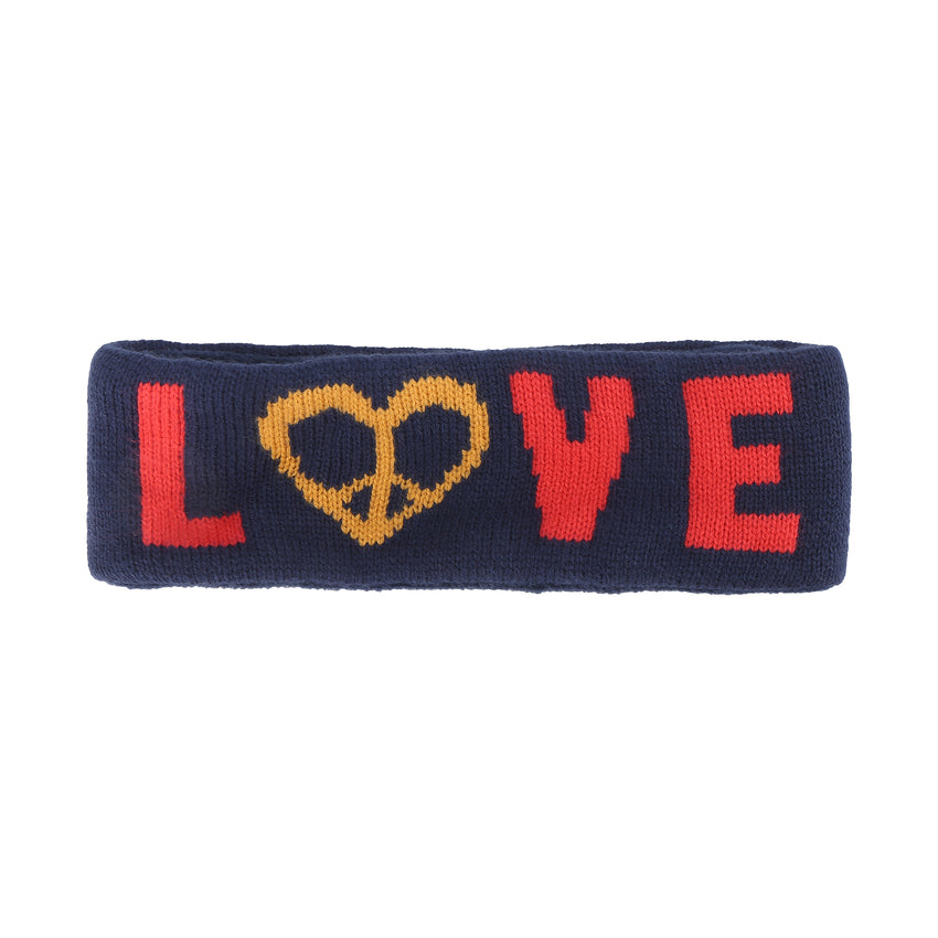 Peace and Love Knit Thermal Headband