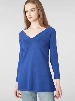Double-V Swing Tunic