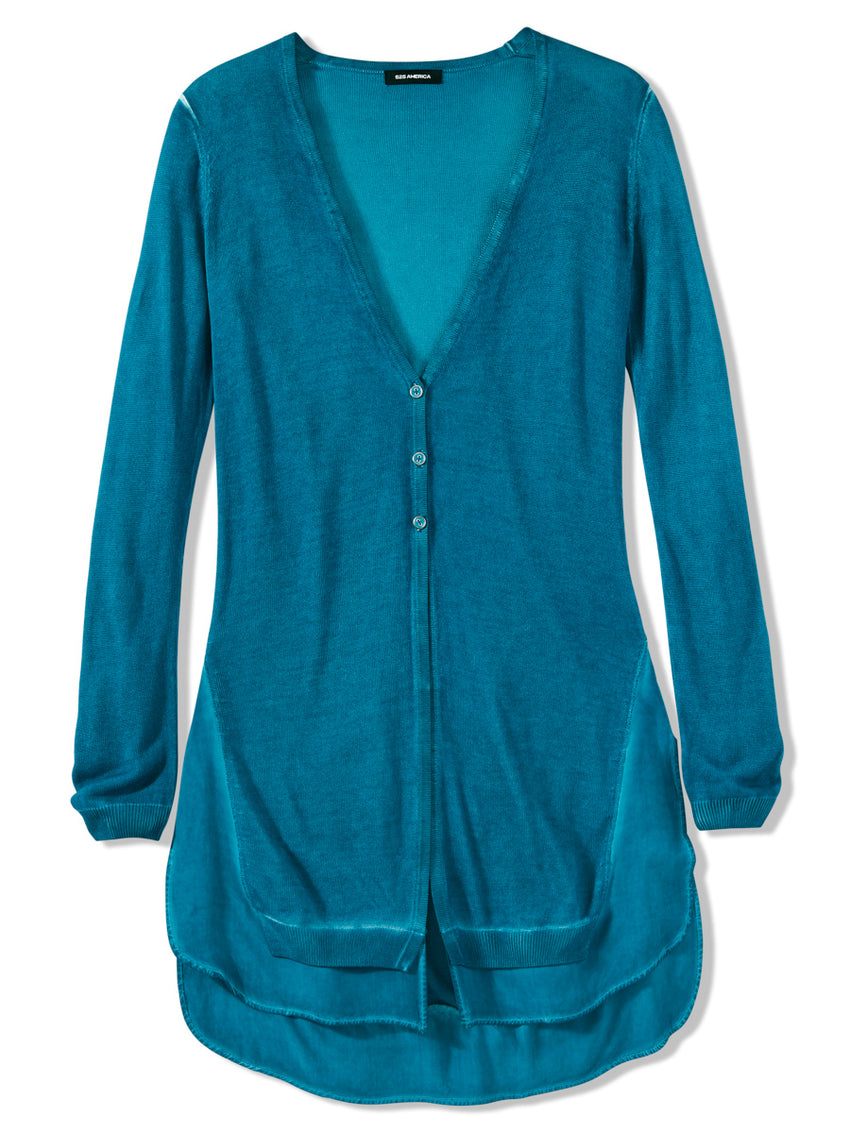 Wave Wash Duster Cardigan