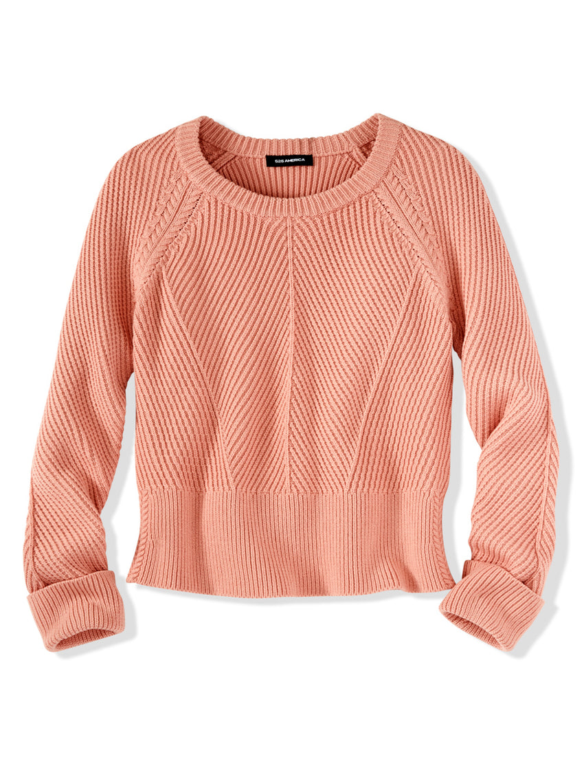 Cotton Wool Chunky Knit Sweater