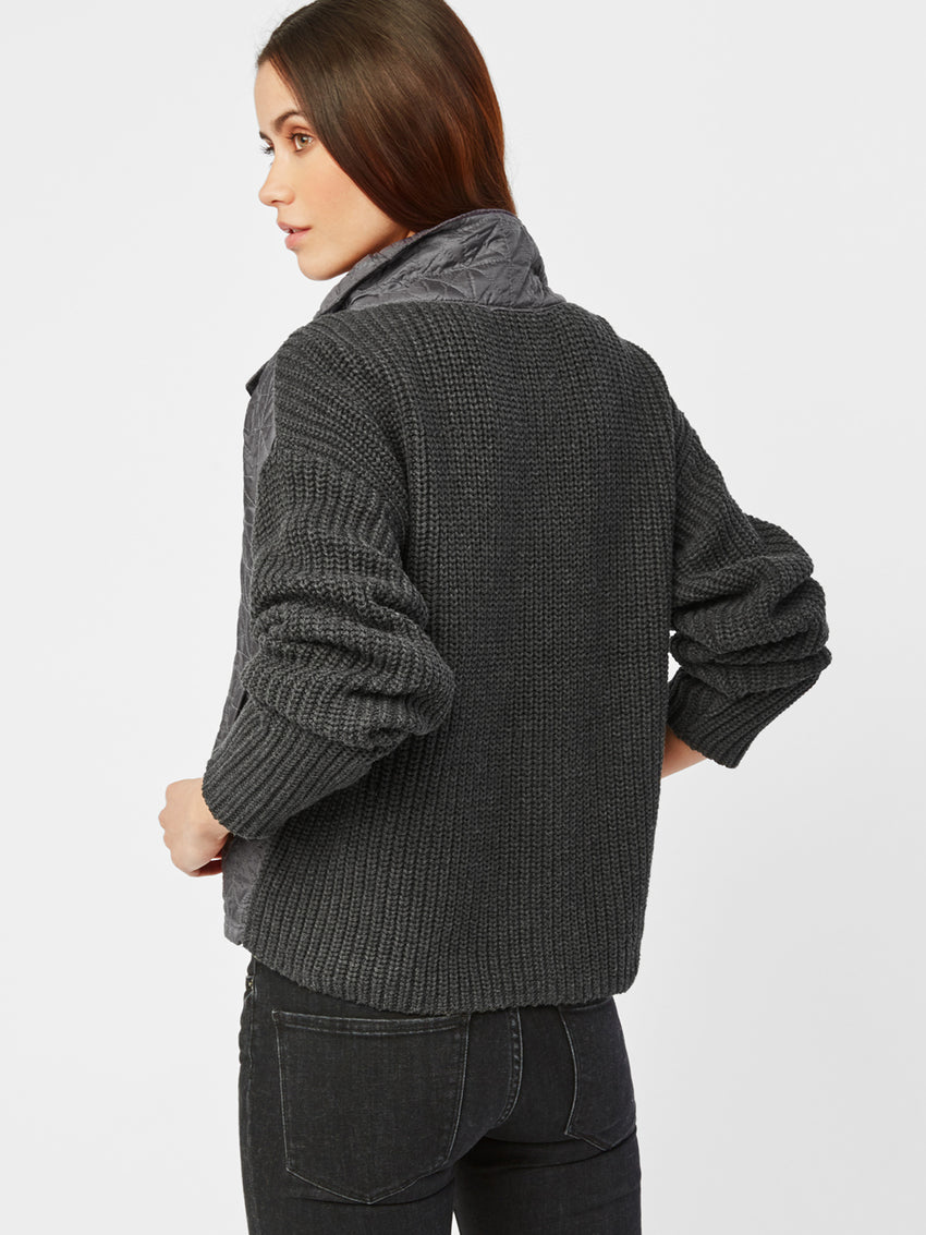Quilted Cotton Shaker Jacket