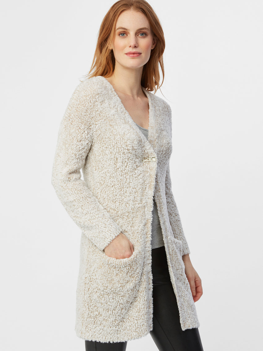 Plush Duster Cardigan