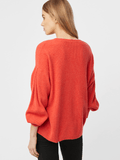 Cashmere Invert Pleat Sleeve Sweater