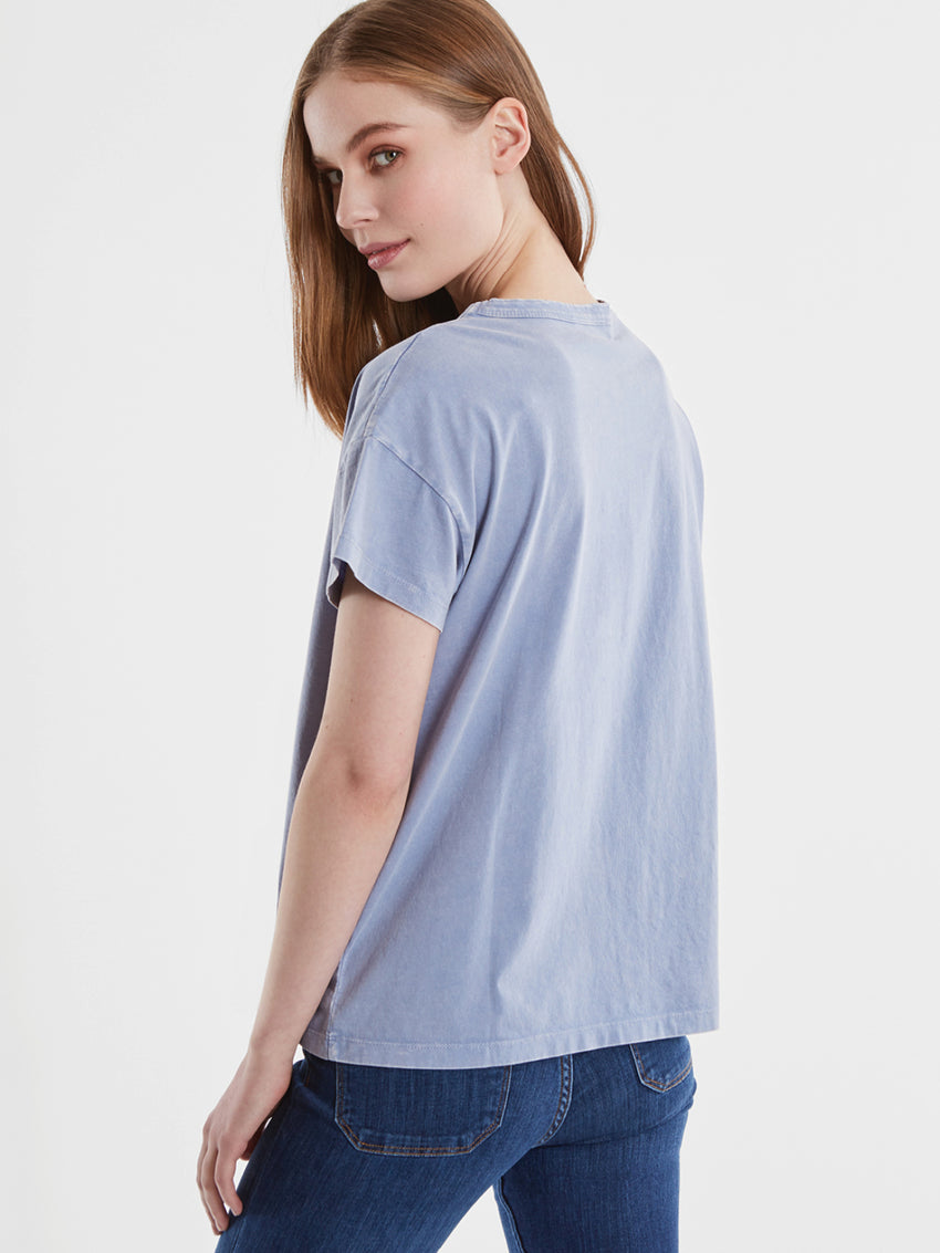 Cotton Jersey Short Sleeve T-Shirt