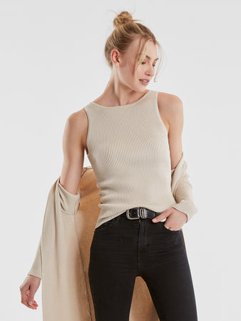 Ribbed Knit Tank