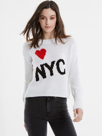 becd6cf482 Heart NYC Cotton Shaker Stitch Sweater