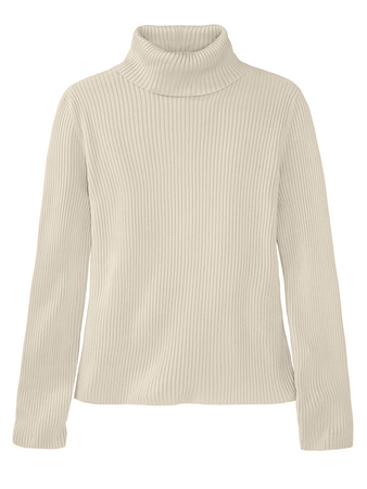 The Chloe: Ribbed Knit Turtleneck