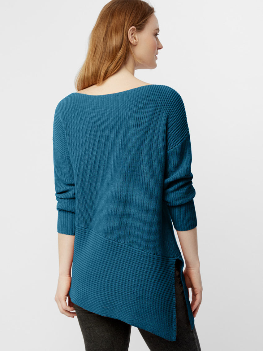 Cotton Shaker Asymmetrical Tunic