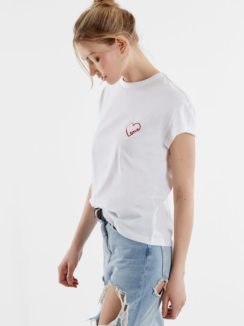 Cotton Love Script T-Shirt