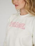 Cotton French Terry Peace Sweatshirt