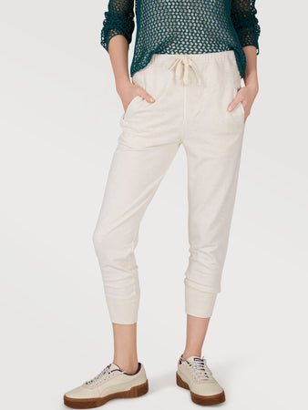Cotton Blend French Terry Lounge Joggers