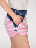 Cotton Tie Dye Dolphin Shorts