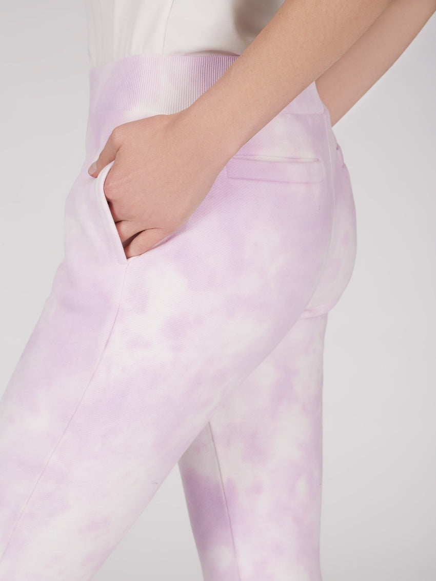 Cotton French Terry Tie Dye Sweatpants