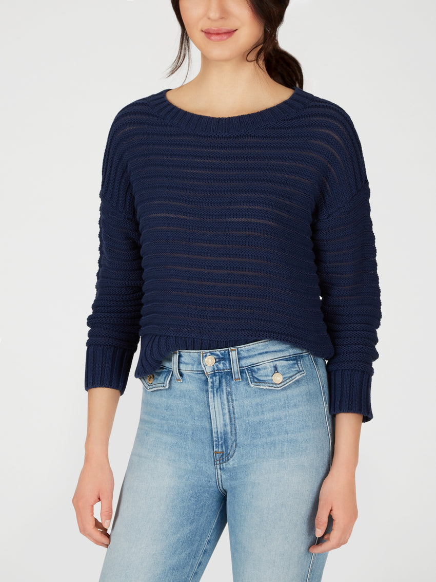 Cotton Open Stitch Sweater