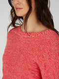 Cotton Shaker Drop Sleeve Sweater