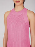 Cotton Shaker Sweater Tank