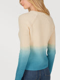 The Jane: Cotton Shaker Dip Dye Raglan Sweater
