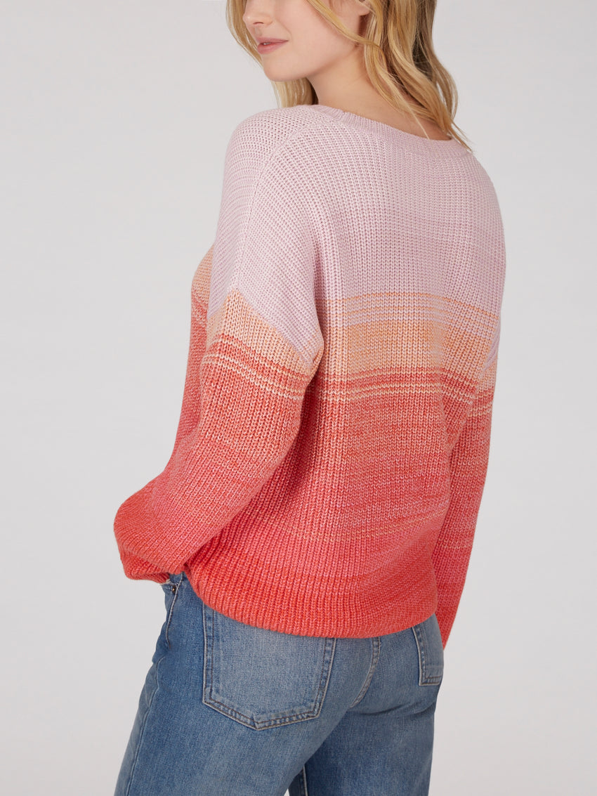 Cotton Shaker Stripe Sweater