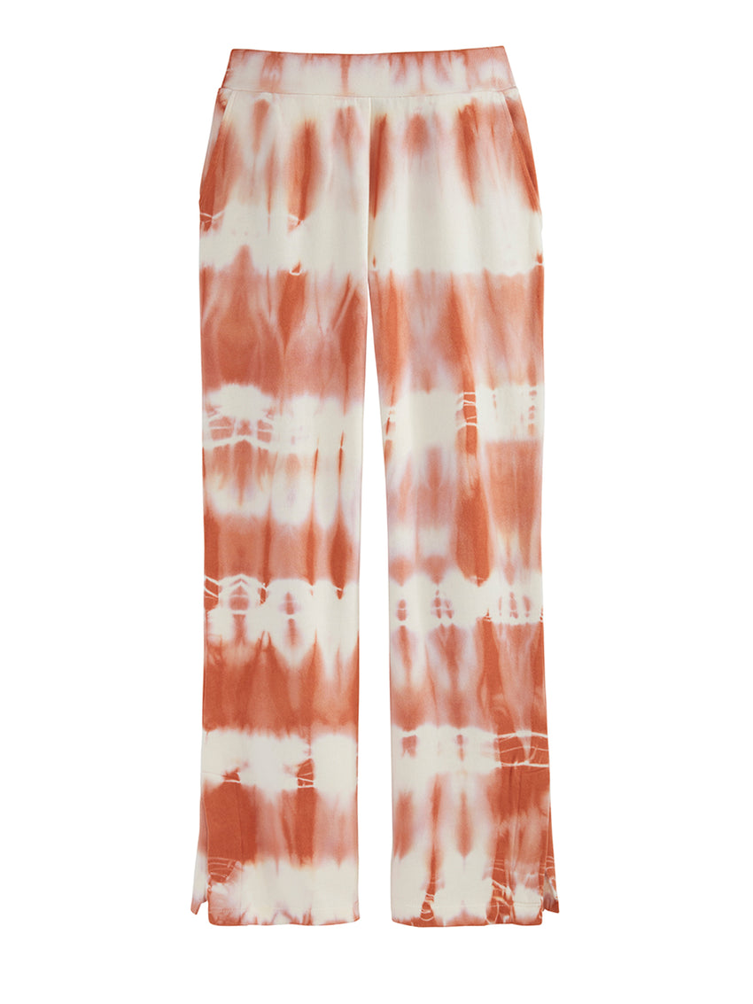 Tie Dye Pant with Slit