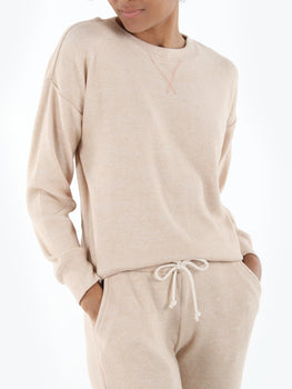 Soft Twist Relaxed Fit Sweatshirt