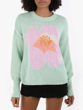 Begonia Cotton Shaker Sweater