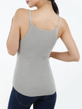 Seamless Ribbed Lurex Tank