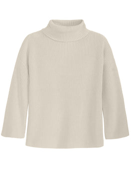 Wide Sleeve Turtleneck Tunic