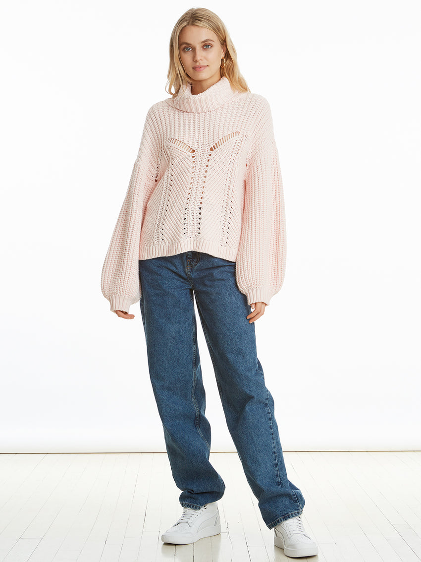 Soft Knit Faux Corset Oversized Sweater